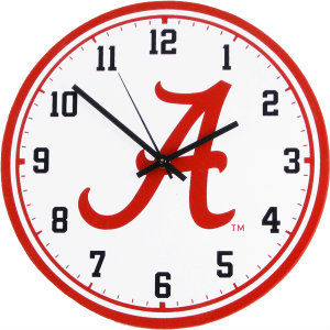 University of Alabama Wall Clock - Crimson Tide