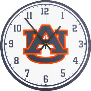 Auburn University Wall Clock - Tigers