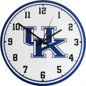 University of Kentucky Wall Clock - Wildcats