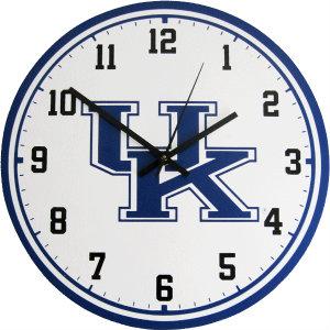 University of Kentucky Wall Clock - Wildcats