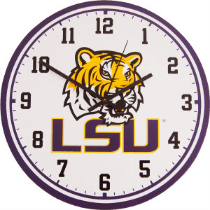 LSU Wall Clock - Tigers