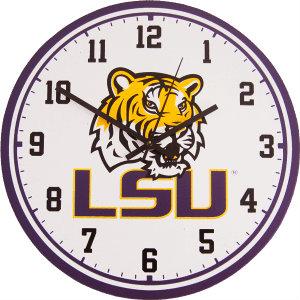 LSU Wall Clock - Tigers