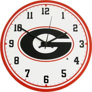University of Georgia Wall Clock - Bulldogs