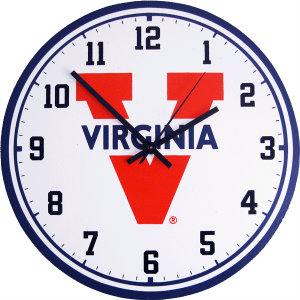 University of Virginia Wall Clock - Cavaliers