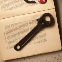 Cast Iron Wrench Bottle Opener