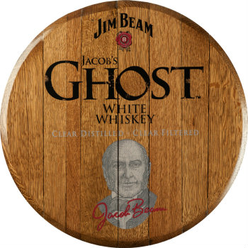 Jim Beam Jacobs Ghost Barrel Head Sign