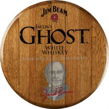 Jim Beam Jacobs Ghost Barrel Head Sign