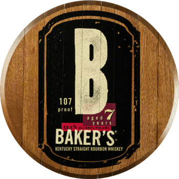 Baker's Barrel Head Sign