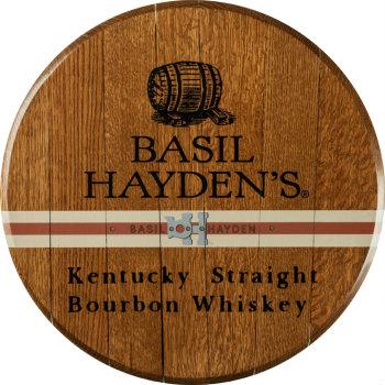 Basil Hayden's Barrel Head Sign