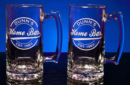 Personalized Home Bar Tankard Mugs - Extra Large