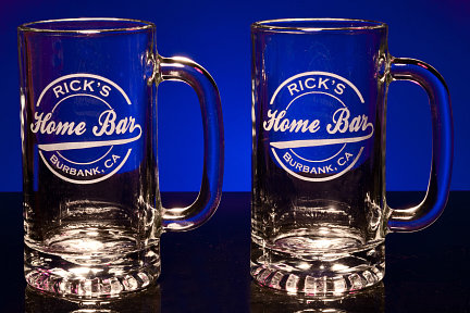 Personalized Home Bar Tankard Mugs