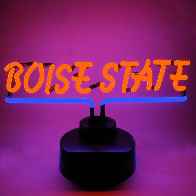 Boise State University Neon Sign - Broncos