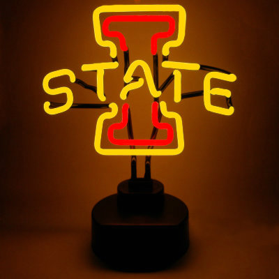 Iowa State University Neon Sign - Cyclones