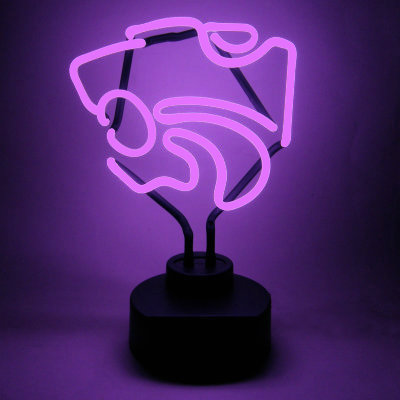 Kansas State University Neon Sign - Wildcats