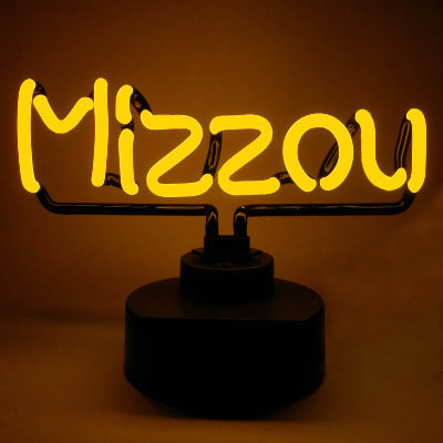 University of Missouri Neon Sign - Missou Tigers