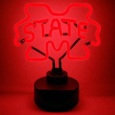 Mississippi State University Neon Sign - Bulldogs