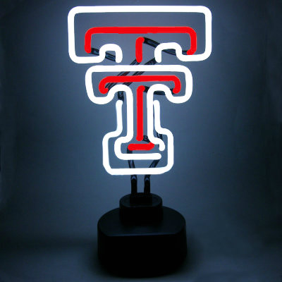 Texas Tech University Neon Sign - Red Raiders