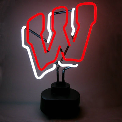 University of Wisconsin Neon Sign - Badgers