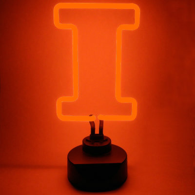 University of Illinois Neon Sign - Fighting Illini