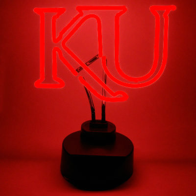 University of Kansas Neon Sign - Jayhawks
