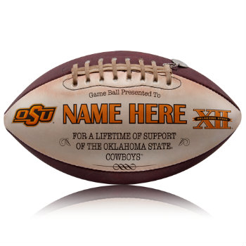 Personalized NCAA Licensed OSU Football - Cowboys