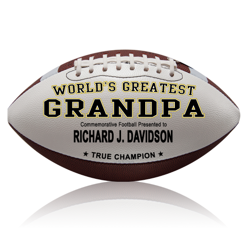 Personalized Football - Grandpa