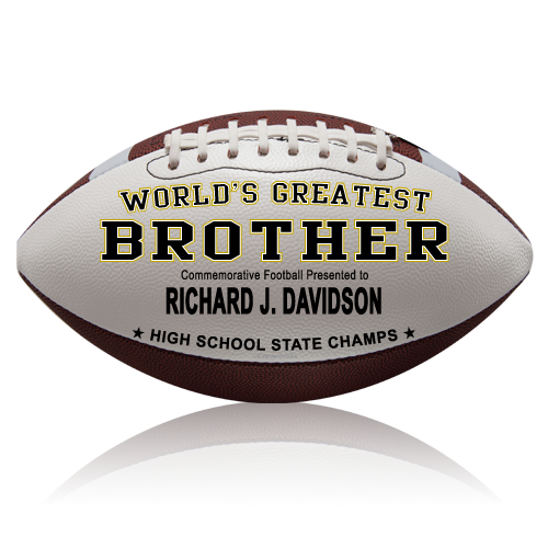 Personalized Football - Brother