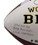 Personalized Football - Brother - Sample Signing