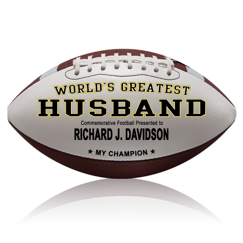 Personalized Football - Husband