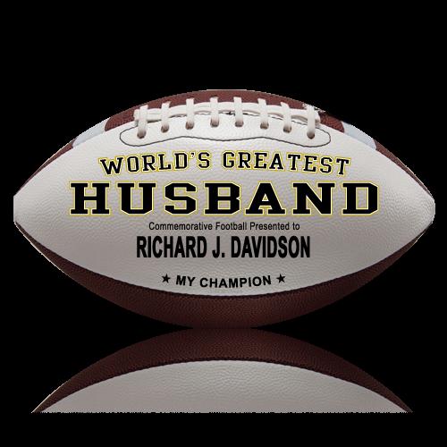 Personalized Football - Husband