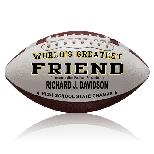 Personalized Football - Friend