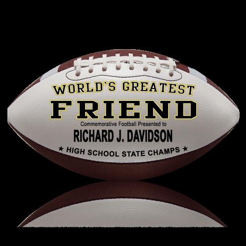 Personalized Football - Friend