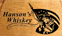 Personalized American Patriot Small Oak Barrel - Close Up