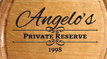 Personalized Private Reserve Small Oak Barrel with Year - Close Up