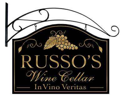 Personalized Wine Cellar Metal Sign with wall mount