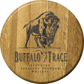 Buffalo Trace Barrel Head Sign