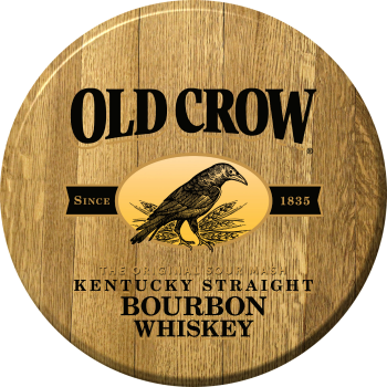 Old Crow Barrel Head Sign