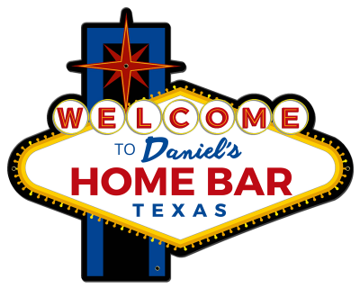 Personalized Home Bar Welcome Metal Sign - Night