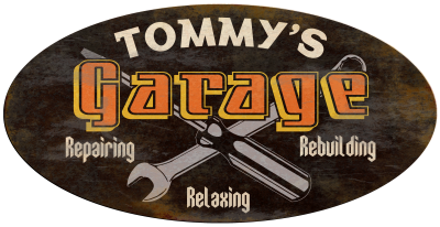Personalized Garage Vintage Metal Sign