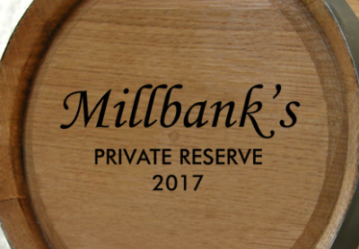 Personalized Private Reserve Mini Oak Barrel