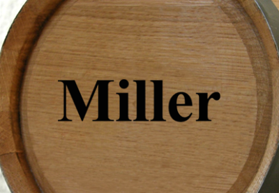 Personalized Mini Oak Barrel