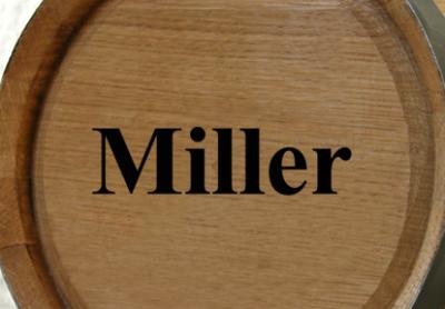 Personalized Mini Oak Barrel