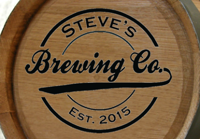 Personalized Brewing Company Mini Oak Barrel