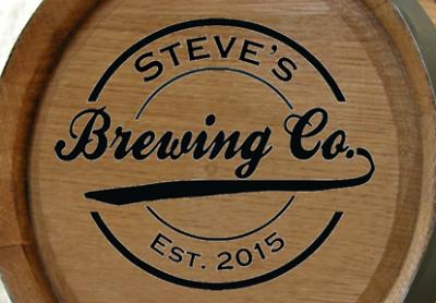 Personalized Brewing Company Mini Oak Barrel