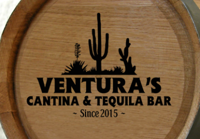 Personalized Cantina and Tequila Bar Mini Oak Barrel