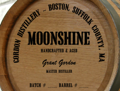 Personalized Mini Oak Barrel - Moonshine Distillery Warehouse