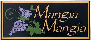 Mangia Mangia Italian Wall Sign