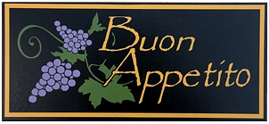 Buon Appetito Italian Wall Sign