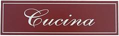 Cucina Italian Wall Sign