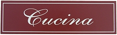 Cucina Italian Wall Sign
